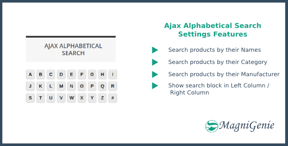 Ajax Alphabetical Search