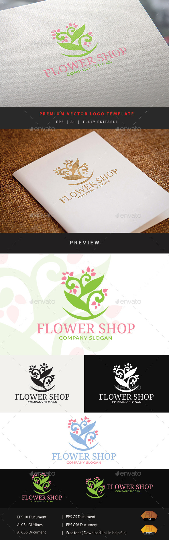 GraphicRiver Flower Shop 11873397