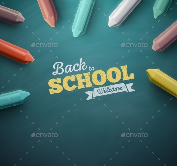 GraphicRiver Back To School 11873649