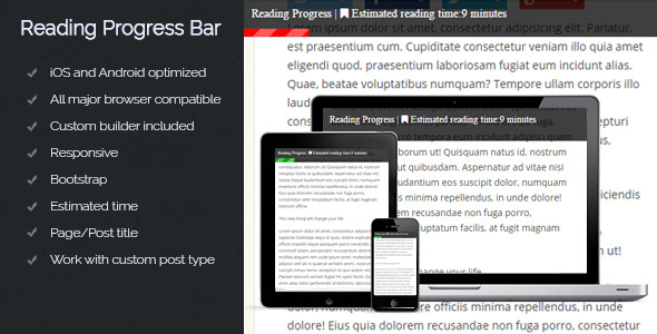 CodeCanyon Reading Progress Bar 11812895