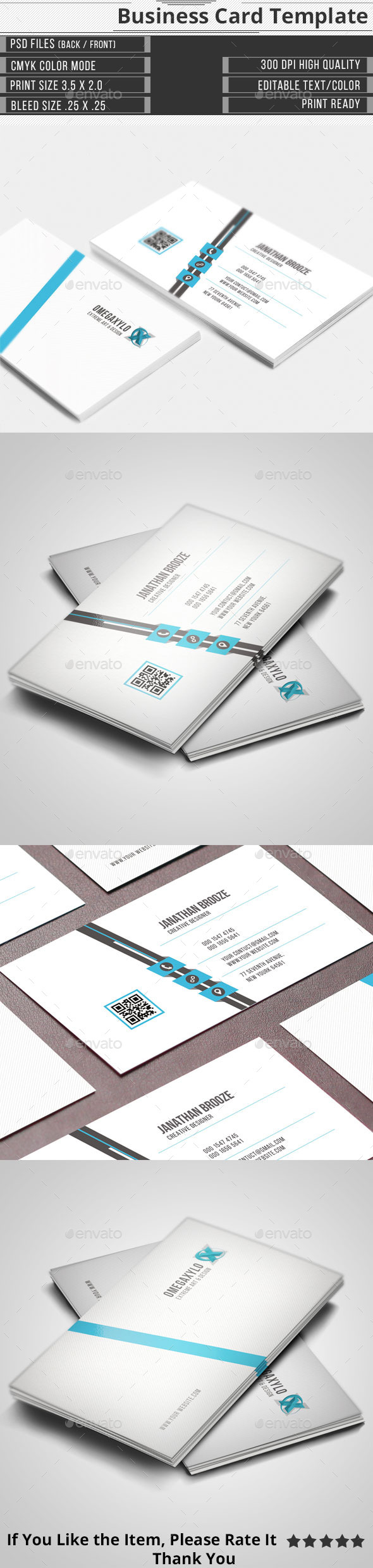 GraphicRiver Corporate Business Card 11873683