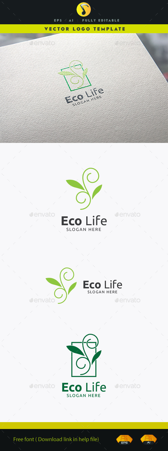 GraphicRiver Eco Life 11873721