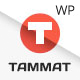 Tammat - Responsive Material Design WP Theme - ThemeForest Item for Sale