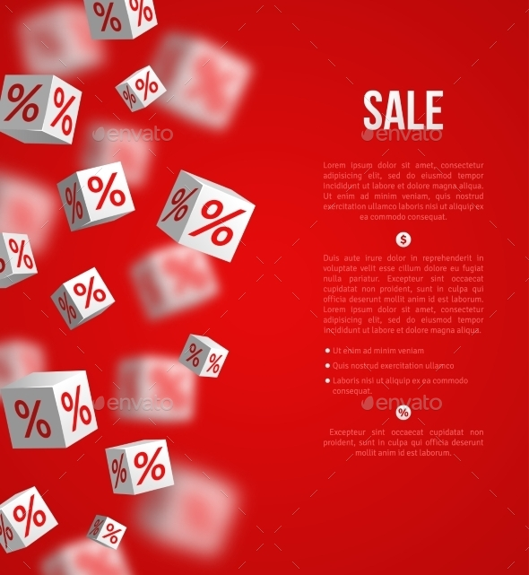 GraphicRiver Sale Poster Vector Illustration Design Template 11874191