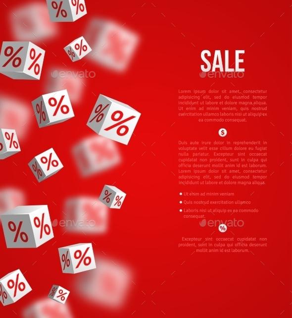 GraphicRiver Sale Poster Vector Illustration Design Template 11874191