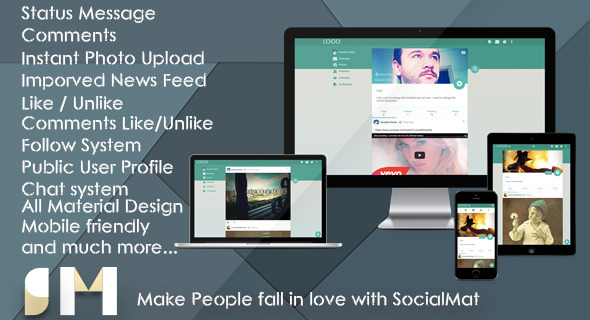 SocialMat – Social Networking Platform (Social Networking) Download