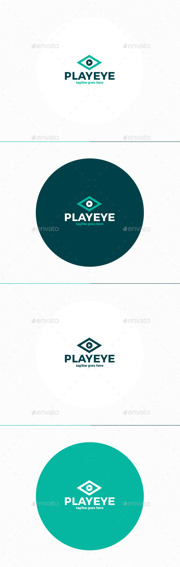 GraphicRiver Play Eye Logo 11874370