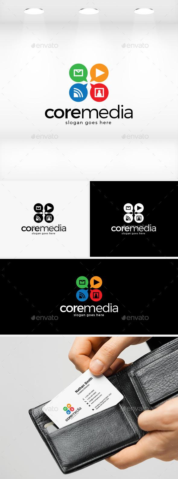 GraphicRiver Core Media Logo 11874578