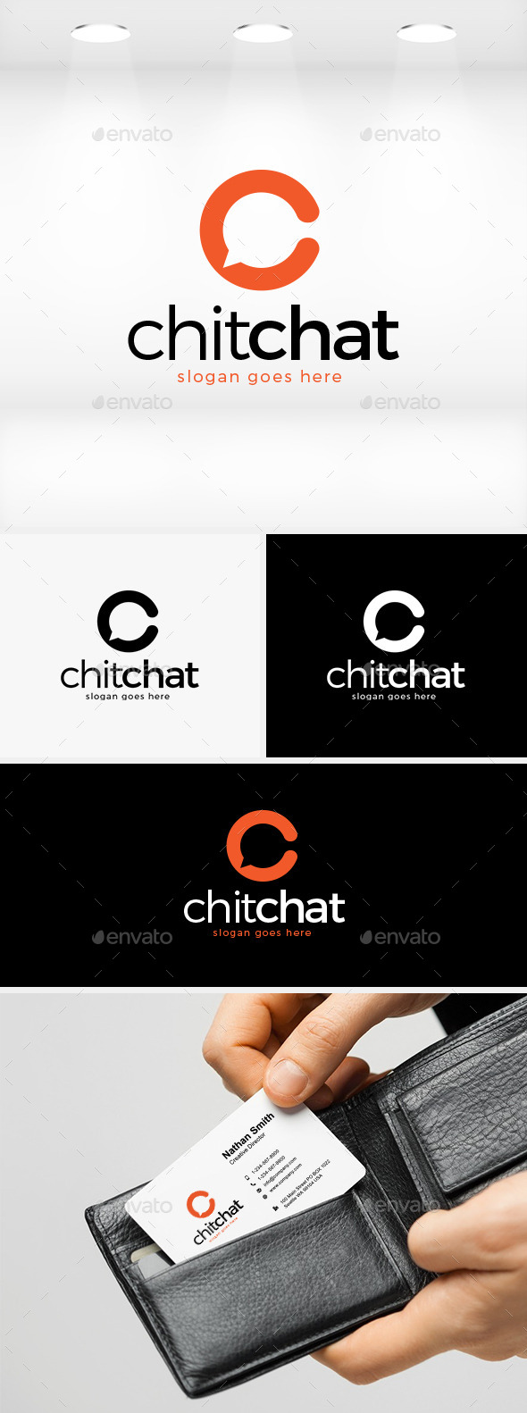 GraphicRiver Chit Chat Logo 11874588