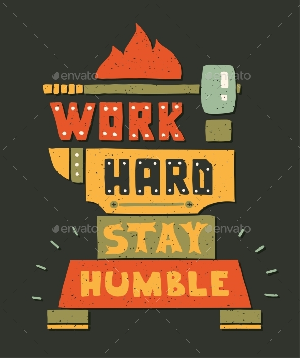 GraphicRiver Modern Flat Design Hipster Illustration With Quote 11874812