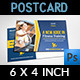 Fitness GYM Postcard Template - GraphicRiver Item for Sale