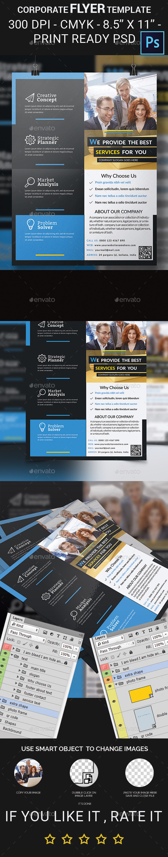 GraphicRiver Corporate Flyer Template 11873776