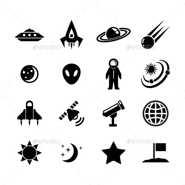 GraphicRiver Space Icon 11875581