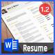 Golden Resume - GraphicRiver Item for Sale