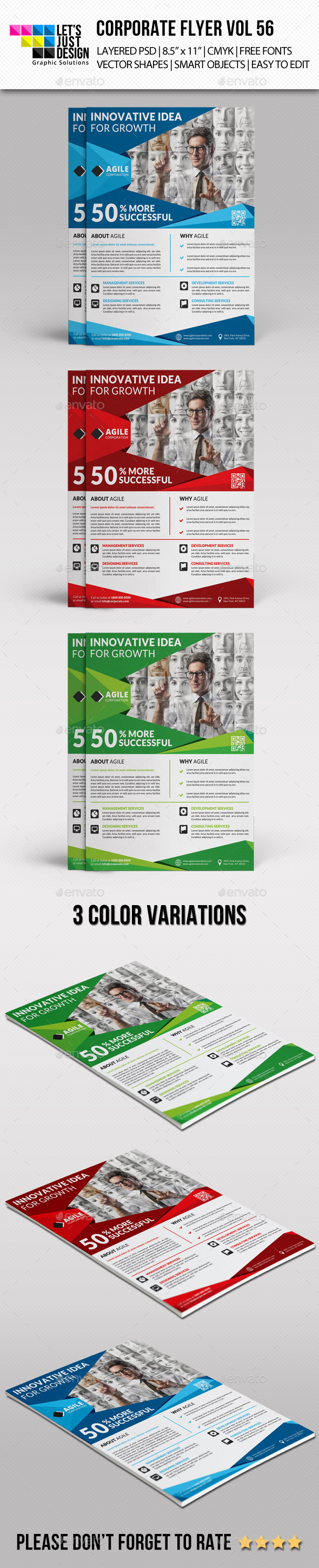 GraphicRiver Corporate Flyer Template Vol 56 11875758