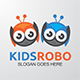 Kids Robo Logo - GraphicRiver Item for Sale
