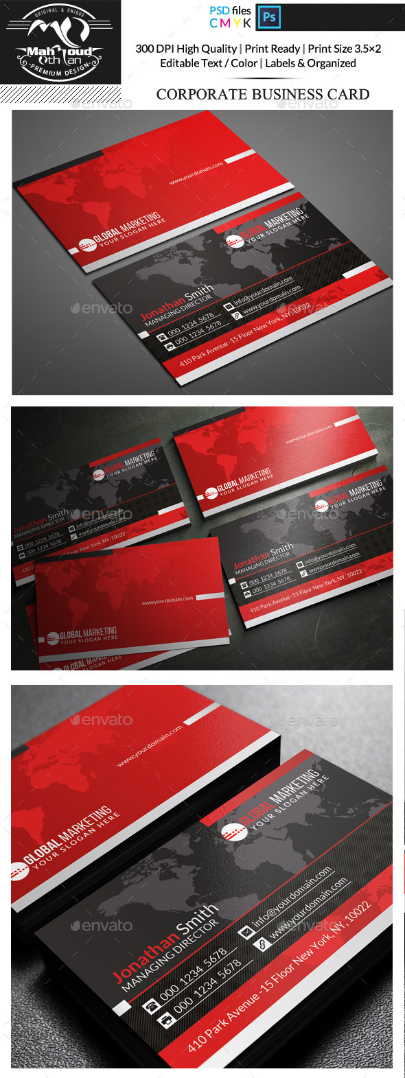 GraphicRiver Corporate Business Card 11875834