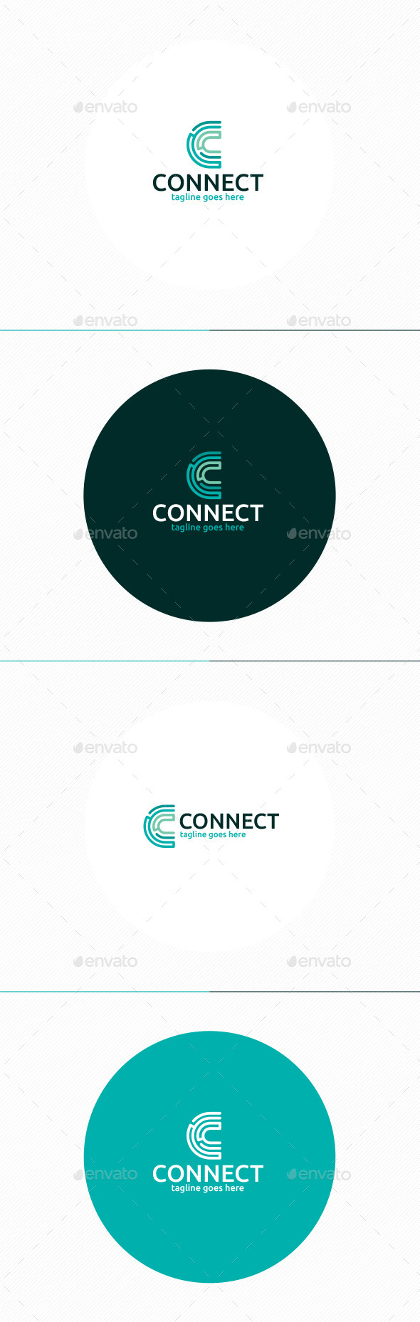 GraphicRiver Connect Logo Letter C 11875844