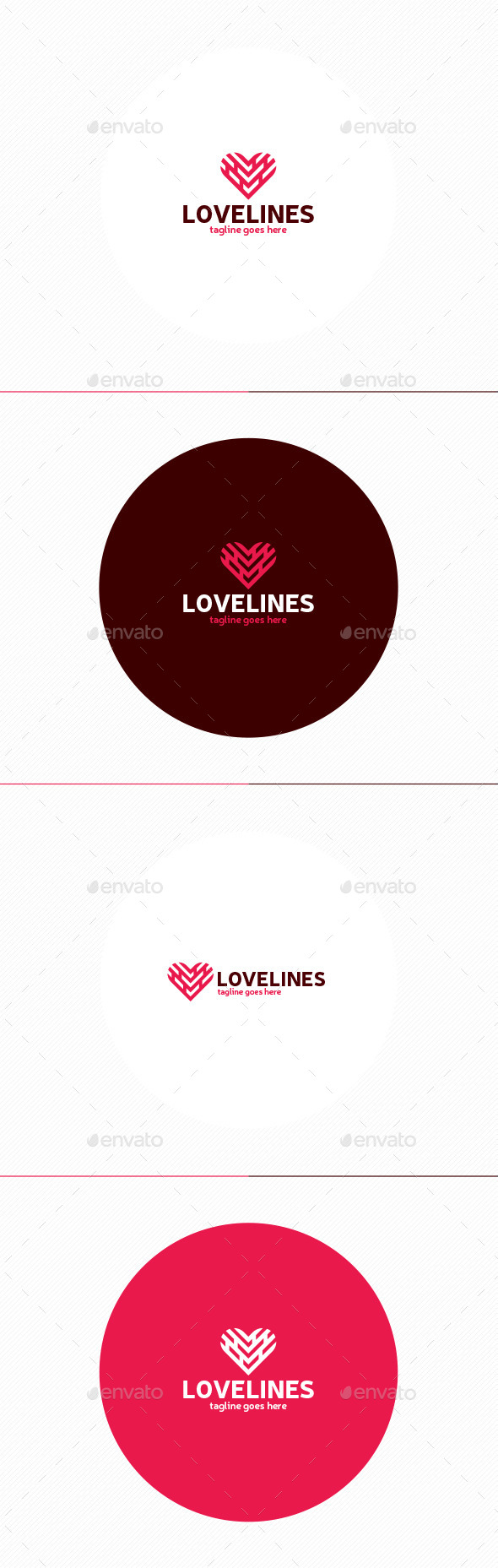 GraphicRiver Love Lines Logo 11875974