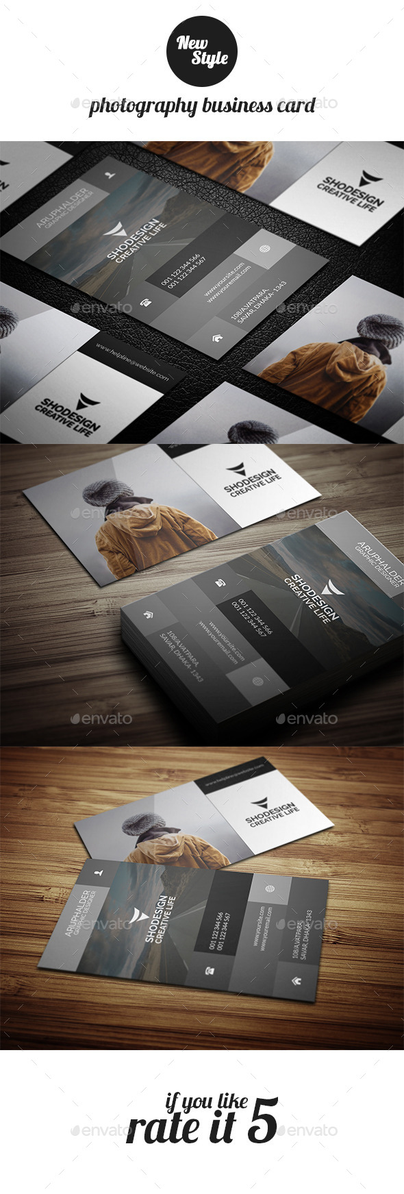 GraphicRiver Photography Busienss Card Template 11875985