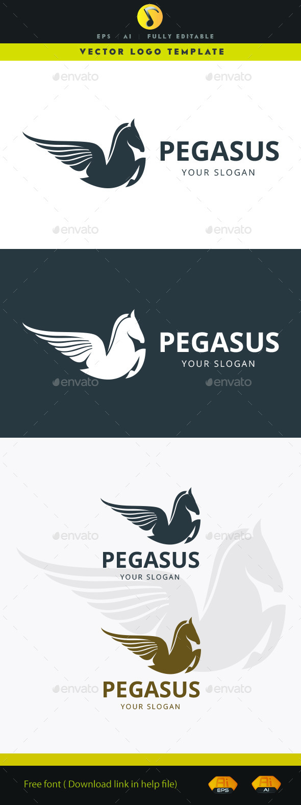 GraphicRiver Pegasus 11875990