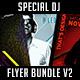 Special DJ Flyer Bundle V2 - GraphicRiver Item for Sale