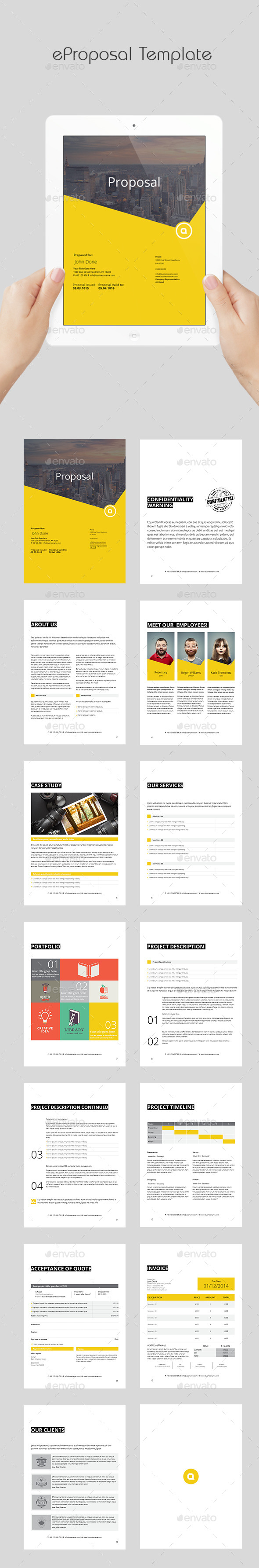 GraphicRiver eProposal Template 11876063
