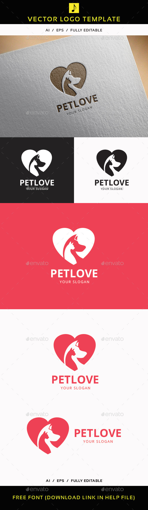 GraphicRiver Pet Love 11876135