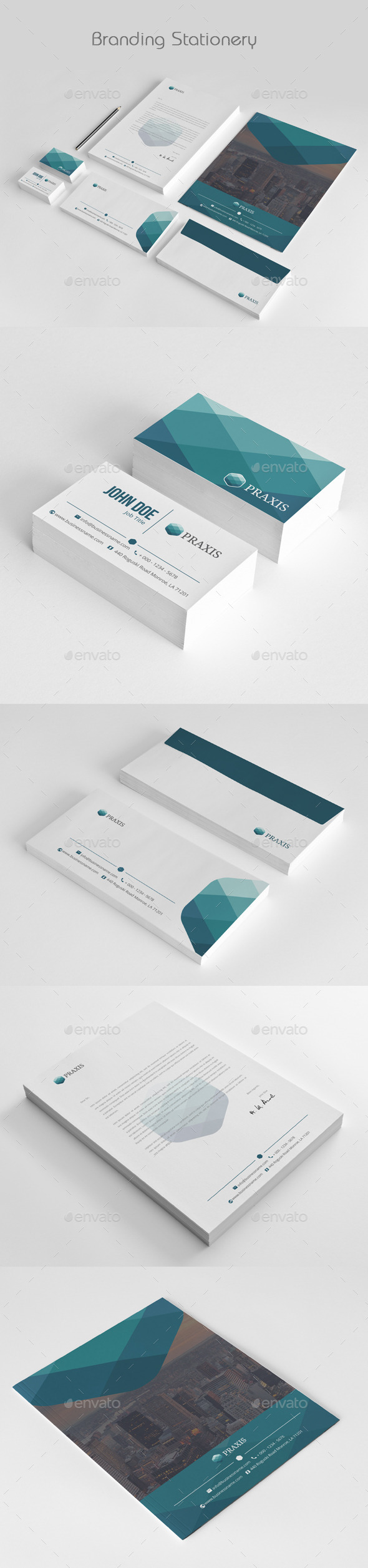 GraphicRiver Business Stationery 11876357