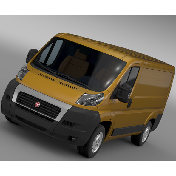Fiat Ducato Van L1H1 2006-2014 - 3DOcean Item for Sale