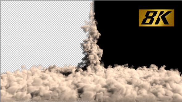 Rocket Launch Smoke