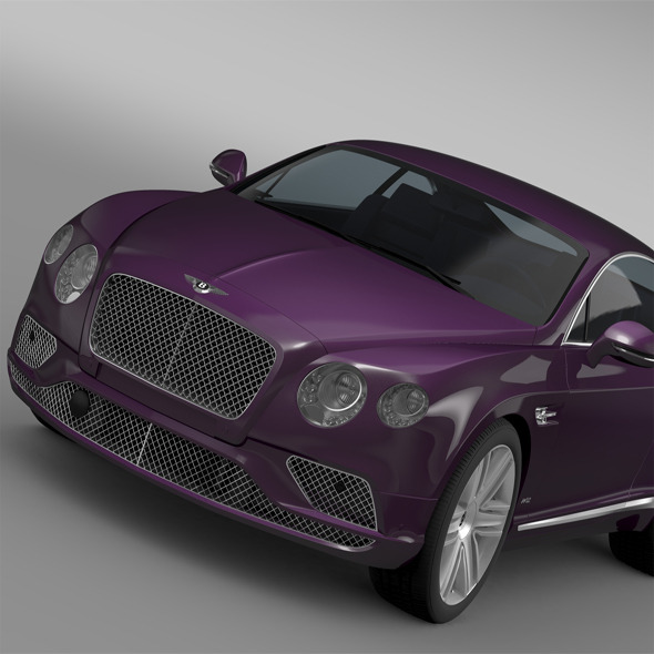 Bentley Continental GT 2015 - 3DOcean Item for Sale