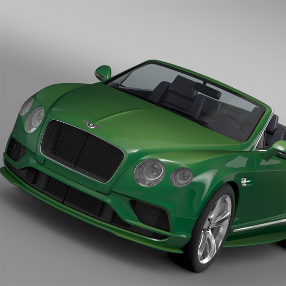 3DOcean Bentley Continental GT Speed Convertible 2015 11877253