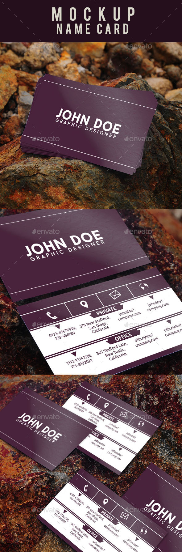 GraphicRiver Mockup Name Card 11877463