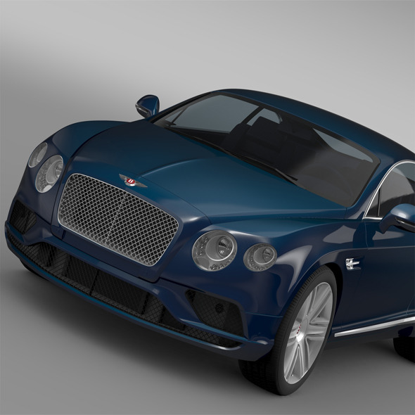 Bentley Continental GT V8 2015 - 3DOcean Item for Sale