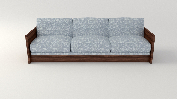 3DOcean Retro Sofa 11877663