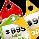 Colored Candy Price Tags Icon Set - GraphicRiver Item for Sale