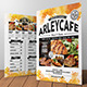 Watercolor Cafe Menu Flyer  - GraphicRiver Item for Sale