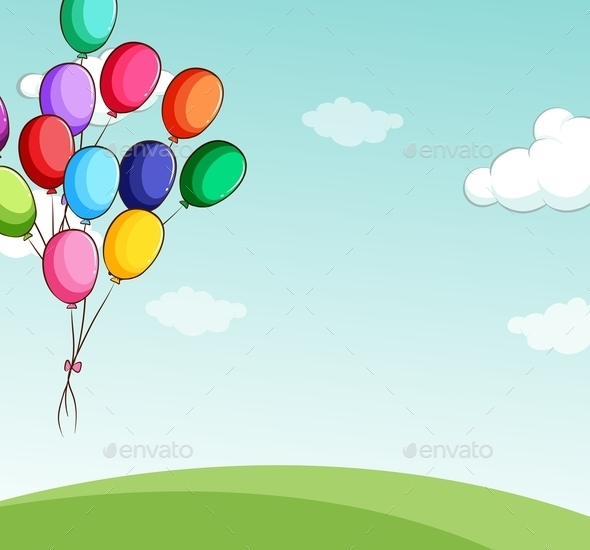 GraphicRiver Balloons 11878126