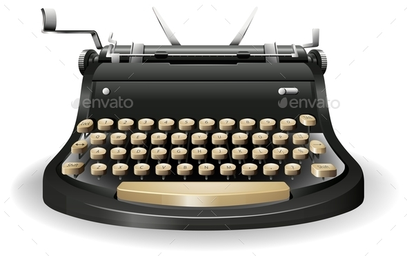 GraphicRiver Typewriter 11878130