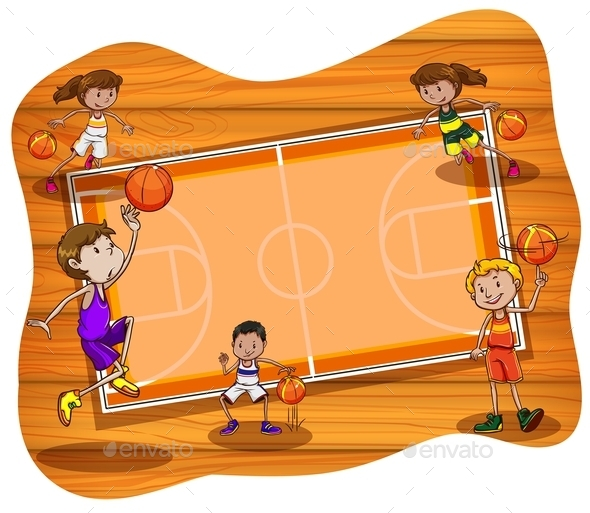 GraphicRiver Basketball 11878143