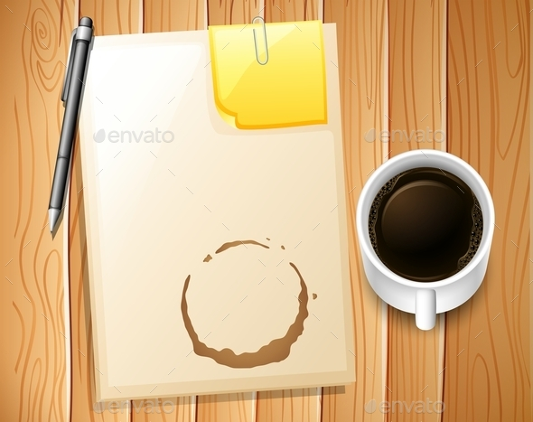 GraphicRiver File and Coffee 11878171