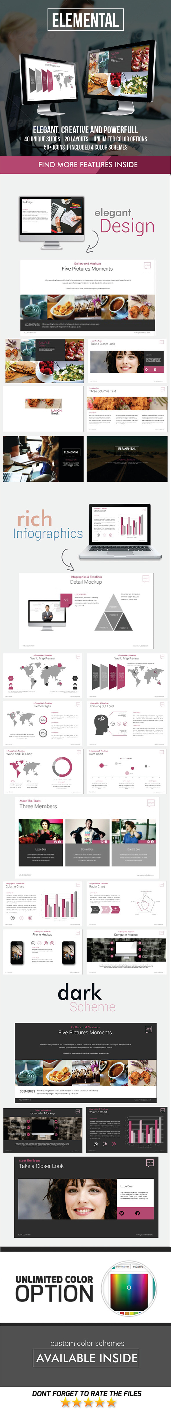 GraphicRiver Elemental PowerPoint Template 11878233