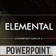 Elemental PowerPoint Template - GraphicRiver Item for Sale