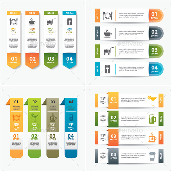 GraphicRiver Set of Infographic Templates 11878446