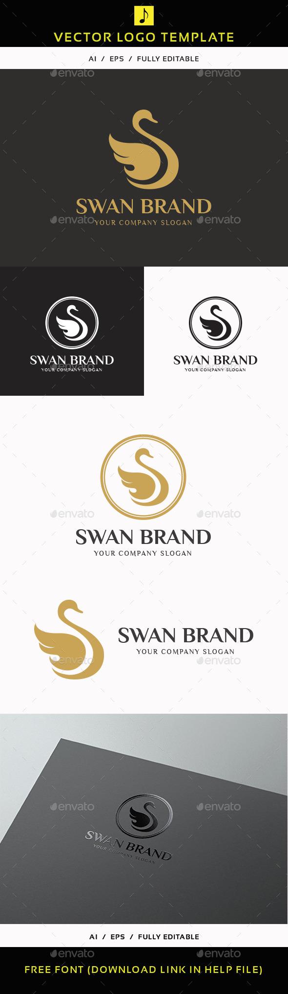 GraphicRiver Swan Brand 11878451
