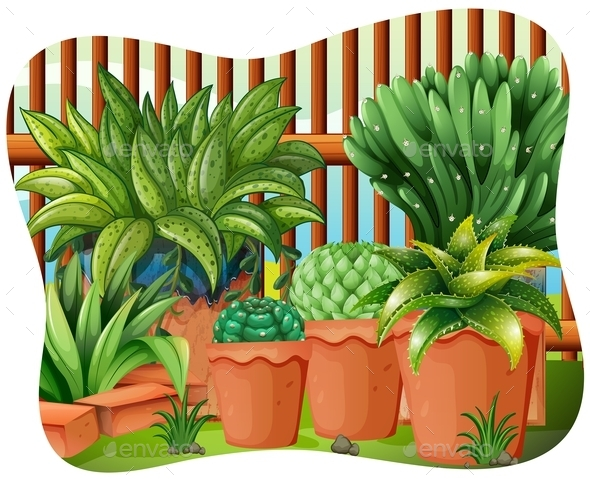 GraphicRiver Potted Plants 11878503