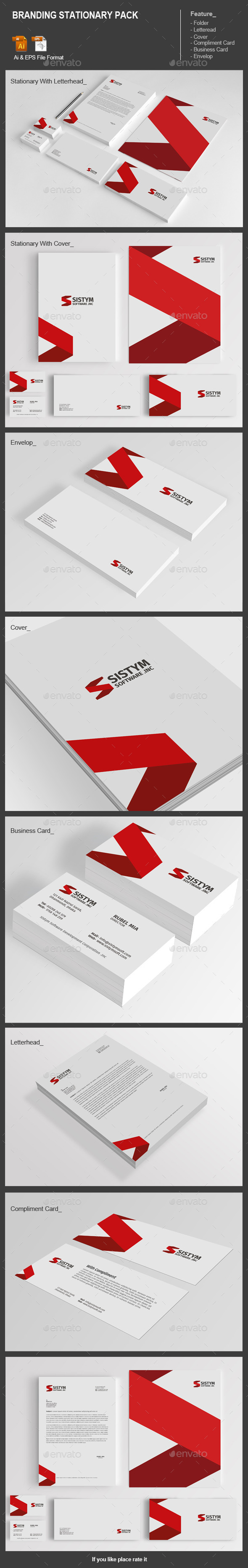 GraphicRiver Branding Stationary Pack 11872583
