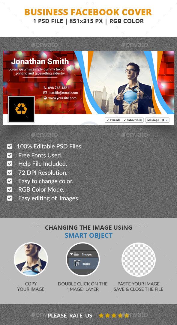 GraphicRiver Business Facebook Cover v2 11878741