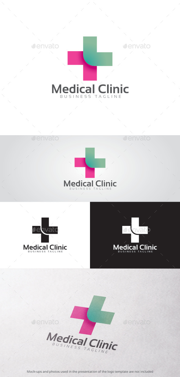 GraphicRiver Medical Clinic Logo 11879059